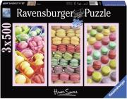 ravensburger pazl 3x500tem howard shooter mocarons photo