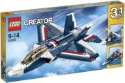 lego 31039 blue power jet photo