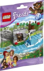 lego 41046 brown bear s river photo