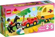 lego 10807 duplo horse trailer photo