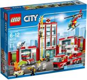 LEGO 60110 CITY FIRE STATION gadgets   παιχνίδια   lego