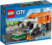 lego 60118 city garbage truck photo