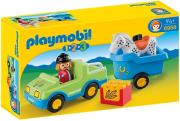 playmobil 6958 aytokinito kai treiler me alogo photo