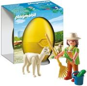 playmobil 4944 fylakas zoologikoy kipoy me lama photo