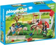 playmobil 6147 superset stablos alogon kai ktiniatros photo