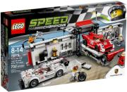 lego 75876 speed porsche 919 hybrid and 917k pit lane photo