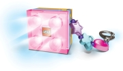 lego friends led key light with charms pink photo