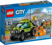 lego 60121 volcano exploration truck photo