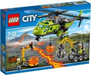 lego 60123 volcano supply helicopter photo