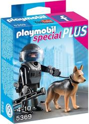 playmobil 5369 astynomos me ekpaideymeno skylo photo