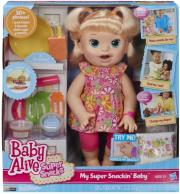 BABY ALIVE MY SUPER SNACKIN BABY - BABY ALIVE MOROYLI FAGANOYLI (B0632) gadgets   παιχνίδια   ηρωες