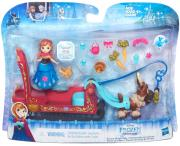 frozen small doll playset asst frozen sleigh ride b5194 photo