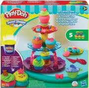 PLAY DOH ΠΥΡΓΟΣ ΜΕ ΚΕΚΑΚΙΑ - CUPCAKE TOWER (A5144) gadgets   παιχνίδια   play doh