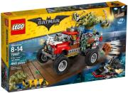 lego 70907 killer croc tail gator photo