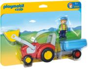 playmobil 6964 trakter me karotsa photo