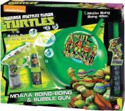 ΛΑΜΠΑΔΑ BOING & BUBBLE GUN TURTLES gadgets   παιχνίδια   hobby