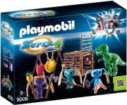 PLAYMOBIL 9006 Ο ΣΠΙΘΑΣ ΜΕ ΤΟΥΣ ΦΙΛΟΥΣ ΤΟΥ ΚΑΙ ΠΑΓΙΔΑ ΓΙΑ ΤΟΝ Τ-ΡΕΞ gadgets   παιχνίδια   playmobil