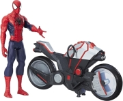 spider man titan hero series sm w spider cycle photo