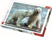 trefl puzzle 500pz polar bears photo