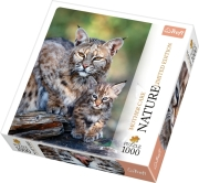 trefl puzzle 1000pz nature bobcat photo