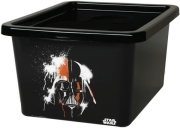 lego star wars storage box 18l darth vader photo