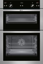 ΔΙΠΛΟΣ ΦΟΥΡΝΟΣ NEFF U15E52N5GB λευκές συσκευές   φούρνοι