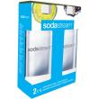 sodastream white pet bottle duo 1lt photo