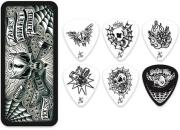 penes dunlop james hetfield singature picks pick tin 6 tmx 088 jph01t088 photo