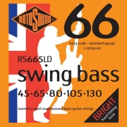 xordes ilektrikoy mpasoy rotosound rs665ld swing bass 5 string standard light 45 130 stainless stee photo