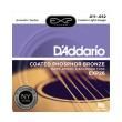xordes akoystikis kitharas d addario exp26 custom light 11 52 coated phosphor bronze photo