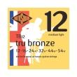 xordes akoystikis kitharas rotosound tb12 tru bronze medium light 12 54 80 20 bronze photo