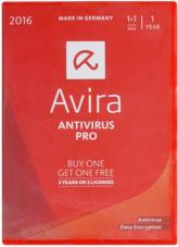 avira antivirus pro box 2016 2 devices 1 year photo