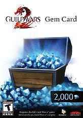 guild wars 2 2000 gems card photo