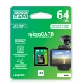 goodram m3aa 64gb micro sdxc mlc u3 uhs i adapter extra photo 1