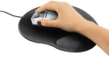 hama 54779 ergonomic mouse pad black extra photo 1