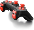esperanza egg102r gamepad pc usb warrior black red extra photo 1