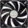 silverstone fn121 120mm fan black extra photo 1