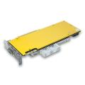 ek water blocks ek fc980 gtx backplate gold extra photo 2