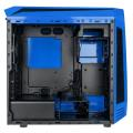 case bitfenix aegis core micro atx blue black extra photo 1