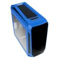 case bitfenix aegis core micro atx blue black extra photo 3