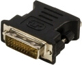 valueline vlcp32900b dvi to vga adapter dvi i 24 5 pin male vga female black extra photo 1