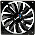 aerocool dark force fan 140mm black extra photo 1