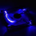 aerocool lightning led fan 140mm blue extra photo 2