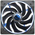 alpenfoehn wing boost 2 plus 140mm pwm fan blue extra photo 1