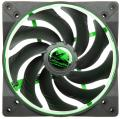 alpenfoehn wing boost 2 plus 140mm pwm fan green extra photo 1