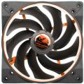 alpenfoehn wing boost 2 plus 140mm pwm fan orange extra photo 1