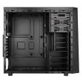 case bitfenix neos midi tower black blue extra photo 2