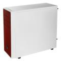 case bitfenix neos midi tower white red extra photo 4