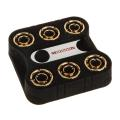 monsoon connection 6 pack 1 4 inch to 19 13mm gold extra photo 4