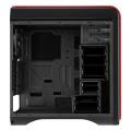 case aerocool ds 200 midi tower red extra photo 3